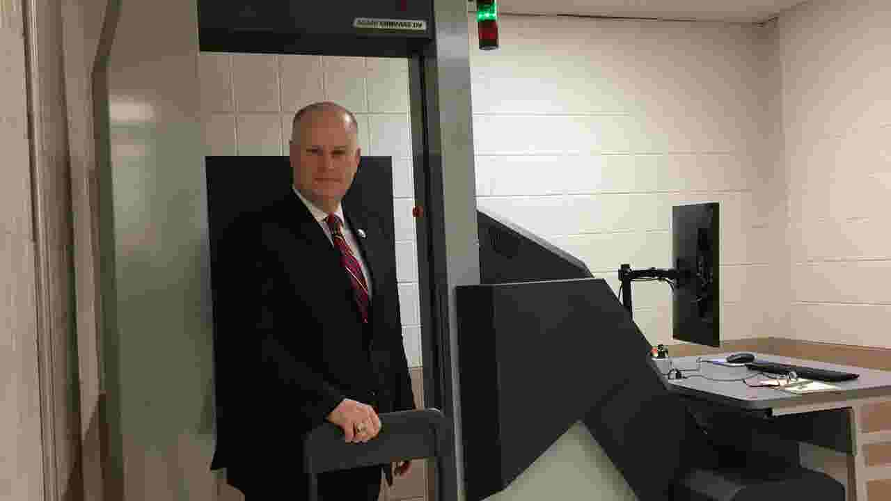VIDEO: Morris jail installs body scanner for weapons, drug checks