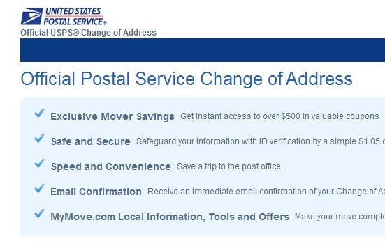 The News Press  Official Change Of Address Form
