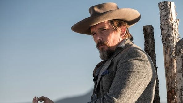 """Ethan Hawke plays Goodnight Robicheaux in """"The Magnificent"""