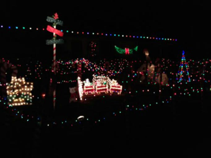 West Seattle Christmas Lights