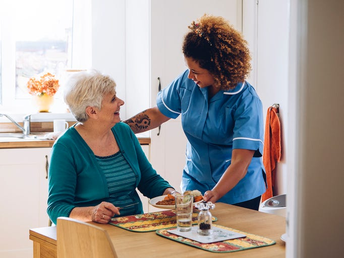 1. Services for the elderly and disabledEmployment