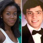 Jaelyn Young, left, and Muhammad Dakhlalla.