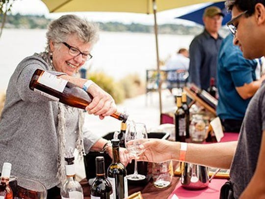 Kitsap Wine Festival is Saturday at the Harborside Fountain Park in Bremerton.