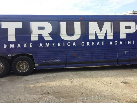 you can buy donald trump 39 s campaign bus for 15 000. Black Bedroom Furniture Sets. Home Design Ideas
