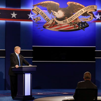 Crime fear focus at first debate