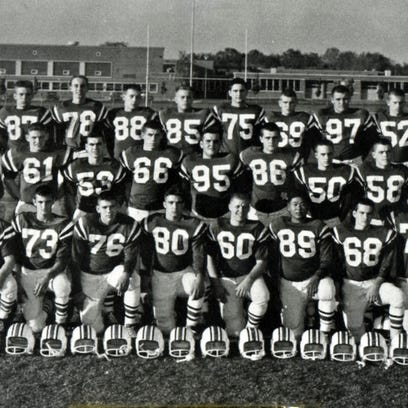 This is the 1958 Harding High School football team