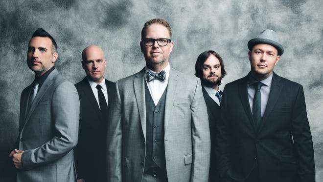 Christian artists MercyMe will be headlining a show at River's Edge Convention Center.