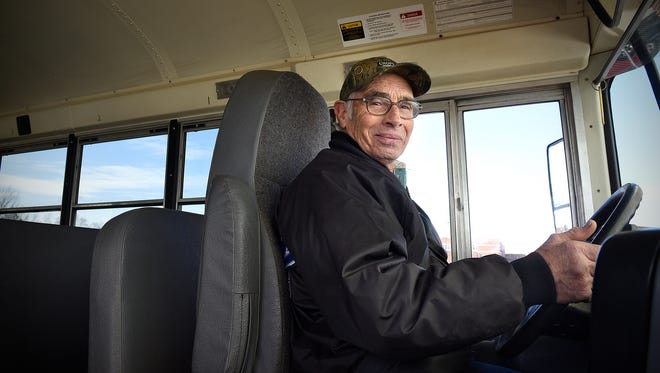 Foley bus driver Don Beehler recently celebrated 51 years on the job. He started driving to supplement his farm income.