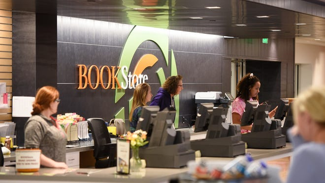 The new bookstore is open for business following a grand opening ceremony at St. Cloud Technical & Community College Thursday, March 22, in St. Cloud.