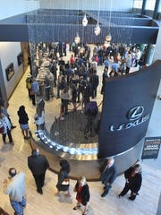 The Dolan Lexus grand opening was held at the new facility on South Virginia on Thursday.