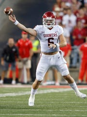 Oklahoma quarterback Baker Mayfield ripped the Ohio State Buckeyes' defense, then showed them up on their own field after the game.
