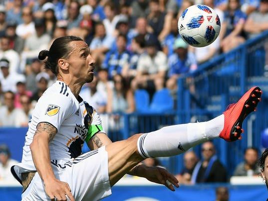 USP MLS: LOS ANGELES GALAXY AT MONTREAL IMPACT S SOC MNI LAG CAN QU