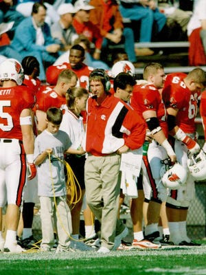Bill Lynch was the head football coach at Ball State 1995-2002.