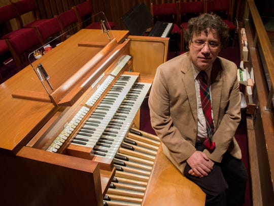 Organ builder and technician, D.K. (Dan) Smith, from