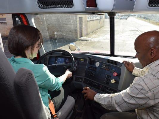 ANI truck driving 1