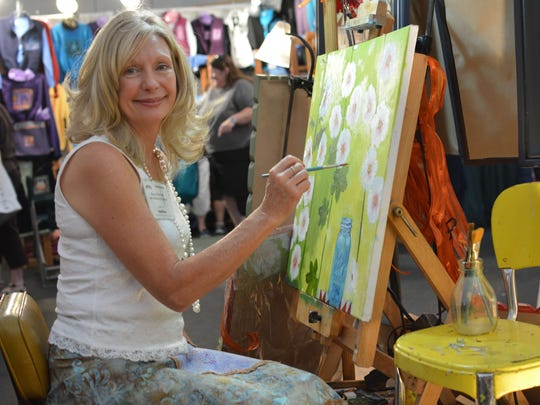 Bonny Nuzzo is one of the artists who will be at the Harvest Festival this weekend.