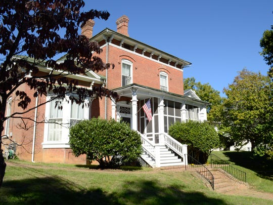 The residence at 411 W. Frederick St. is part of the 2016 Staunton Holiday House Tour.