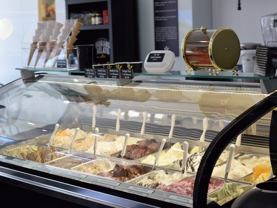 Morano Gelato, a new gelato shop in Westfield, recently