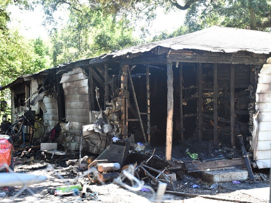 A Westmont Street home was declared a total loss following a blaze Sunday, July 30, 2017. De'Anah East, 12, died as a result of the fire.