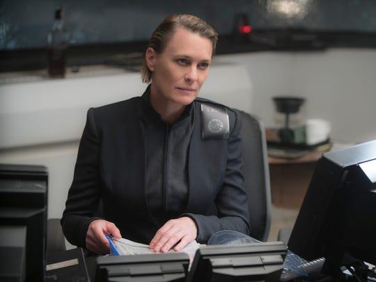 "Lt. Joshi (Robin Wright) is a boss in ""Blade Runner"