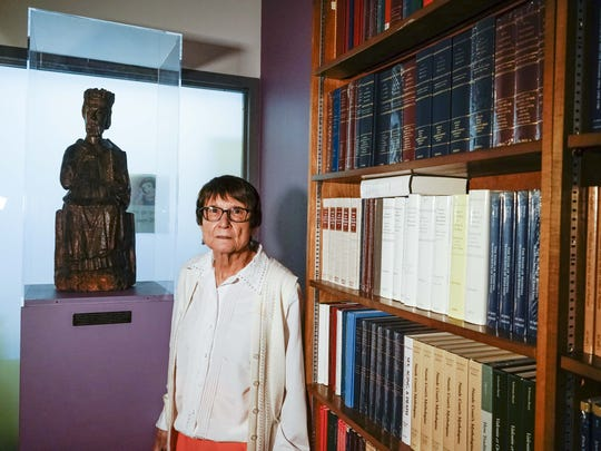 ASU professor Retha M. Warnicke is the first woman faculty member in the history department and the first woman chair of the history department. She retired Jan. 1, 2018 after 49 years at the university.
