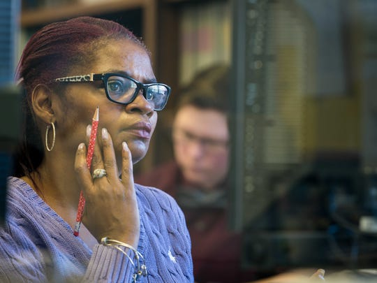 """""""You're never too old to learn, regardless of your past"""", says Vivian Lanham, 51, as she works to complete her GED at the New Castle County Learning Center."""