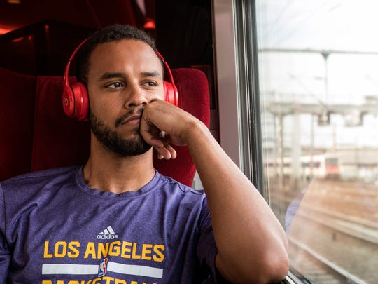 "Anthony Sadler stars in ""The 15:17 to Paris."""