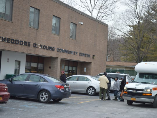 The Theodore D. Young Community Center is on Manhattan