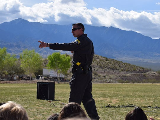 Deputy Jeremy Felish of the Mohave County Sheriff's