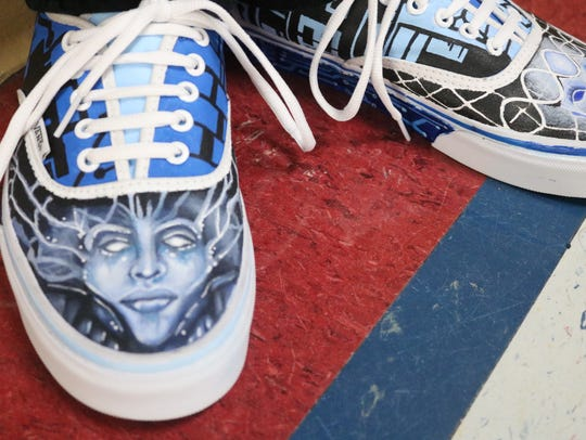 Bel Air art students are competing in a Vans shoe design
