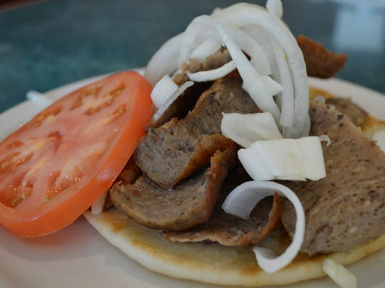 Owner Niko Poulos said the restaurant is known for its gyro sandwich. It has rotisserie gyro meat, onion, tomato and tzatziki sauce on pita bread for $6.50.