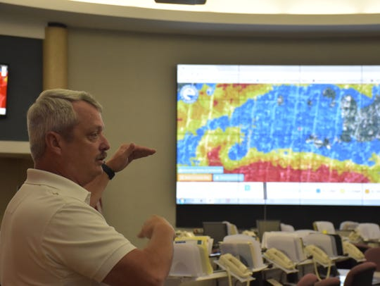 Escambia County Emergency Manager John Dosh explains
