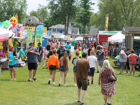 Other than the short stint rain Saturday, the weather was good for the rest of the weekend, with sunshine and warm temperatures, contributing to another great turnout for the Walleye Festival.