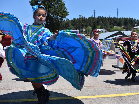 In this 2017 file photo, Alamogordo Folklórico dancers