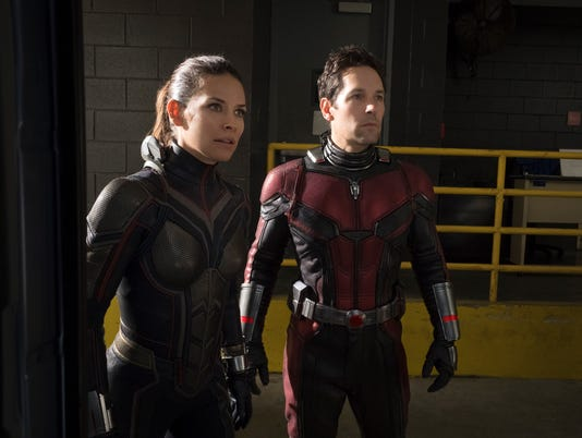 Wasp and Ant Man