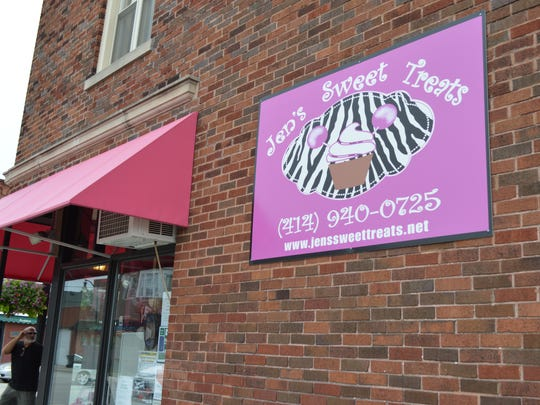Jen's Sweet Treats is located at 4745 S. Packard Ave.,