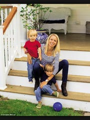 Amanda McGovern lives in Allenhurst with her sons, William Todd and Andrew Todd.