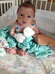 Gunnar has a great disposition despite his frequent hospital stays.