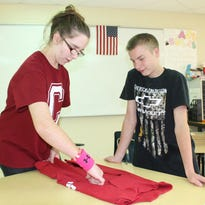 Life Skills Students open for business