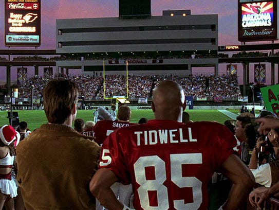 """The climactic football game scenes in """"Jerry Maguire"""""""