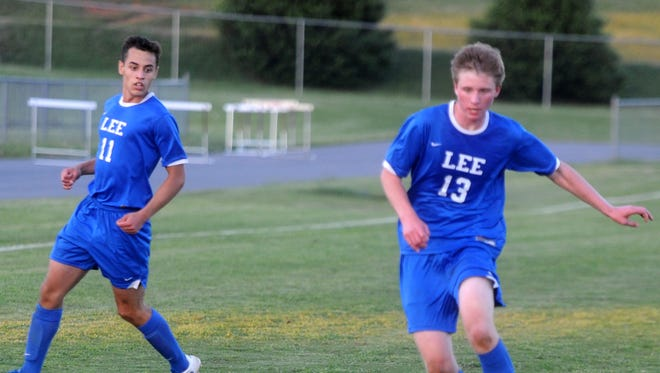 Lee High boys soccer pulled off a big win Monday at George Mason, knocking off the four-time defending state champions in the Region 2A East tournament.