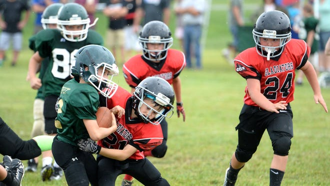 A study shows, nationwide, tackle football played by youth6 years and older has dropped from 8.4 million in 2006 to 5.22 million in 2017.