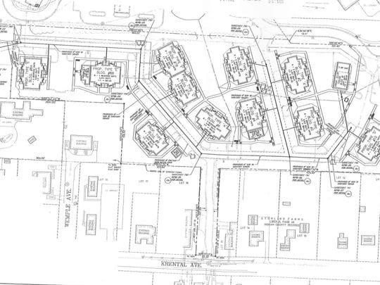 Prestwick Village Apartments layout