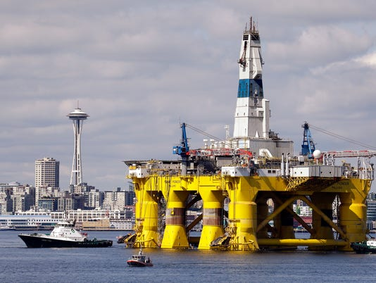 AP OBAMA OFFSHORE DRILLING A FILE USA WA