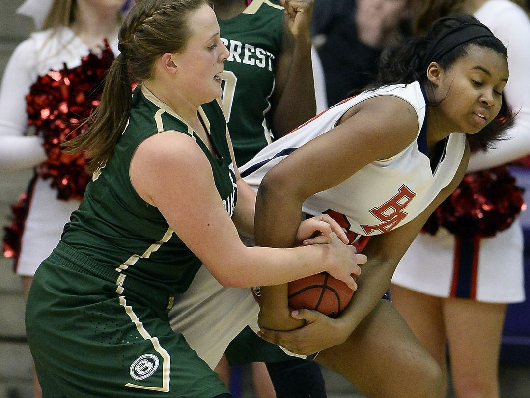 Junior Bria Dial (right) has helped Brentwood Academy to the No. 3 ranking in this week's Midstate Top 10.