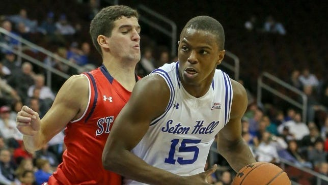 Isaiah Whitehead (No. 15) is the first Seton Hall player to be drafted since 2001.