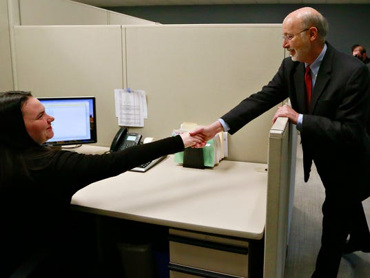 Governor Wolf 'Jobs that Pay' tour