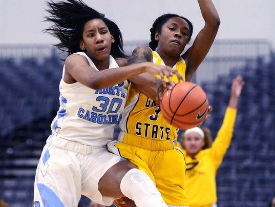 NCAA Womens Basketball: Grambling State vs North Carolina