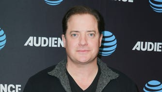 Brendan Fraser at a Los Angeles event on Jan. 11.