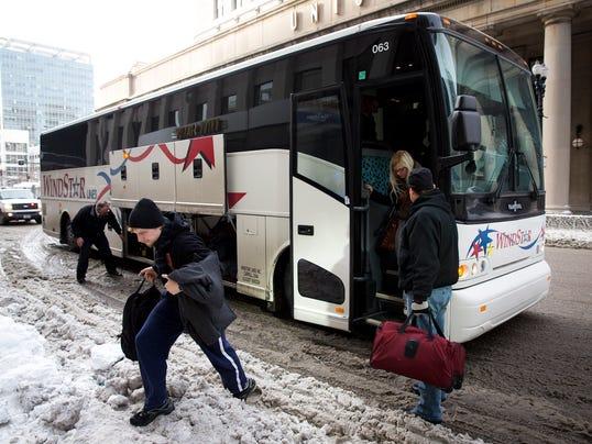 AP Deep Freeze Stranded Travelers